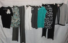 NWTS Womens Clothing Lot MEDIUM 10 Tops Pants New Euc 10 pc Career GAP DESIGNER #MIXEDBRANDS $94.05