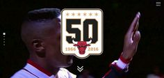 Webdesign: Chicago Bulls History