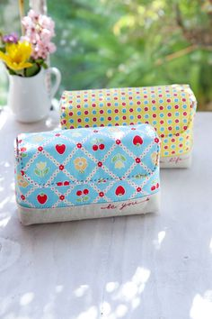 @ Minki's Work Table - Free pattern/tutorial - All-in-one Handy Pouch