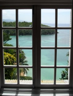 view from a window | All my bags are packed, a photo from Saint Ann, Middlesex | TrekEarth
