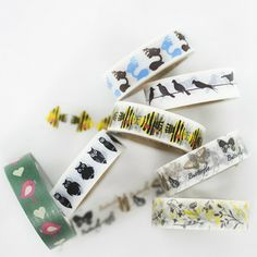 Image of Animal + Insect Love Washi Tape