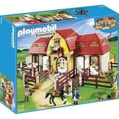 bonplan jouets cdiscount playmobil haras avec chevaux et enclos 1 haras