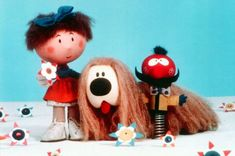 A mix of nostalgic old and new favourites: The nation's top children's TV shows are revealed 1970s Childhood, My Childhood Memories, Childhood Toys, Magic Roundabout, Nostalgia, Vintage Tv, Old Tv, My Memory, Old And New