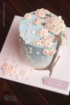 [thisiscake Korea] buttercream flower cake by www.thisiscake.co.kr  (email-thisiscake@naver.com)