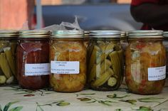 Canned goods at the Greenwood Farmers' Market by Southern Foodways Alliance, via Flickr