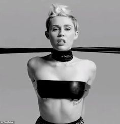 Miley Cyrus Shoots Bondage Video For P0rn Festival: Has She Lost It?