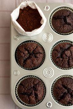 Muffins de chocolate - Lost in Cupcakes