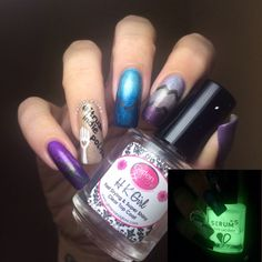 Polished Inka - #itrustindiepolish Nail Art