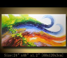 Hey, I found this really awesome Etsy listing at https://www.etsy.com/listing/182664213/abstract-wall-painting-expressionism