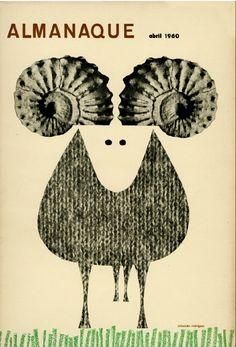 """Almanaque""  Design Sebastião Rodrigues | 1960"