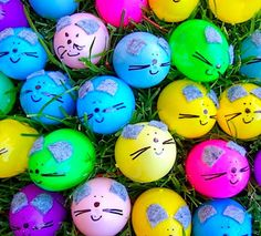 DIY Easter eggs for your cats