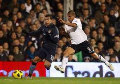Tévez vs Salcido  City vs Fulham