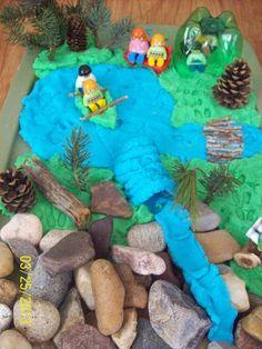 Mountain Lake Small World Play