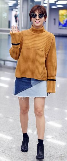 Airport Outfit / Park So-Dam