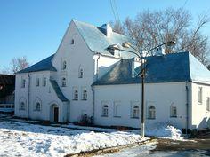 Maison Blanche (bain et buanderie) - Monastère Fiodorovsky - Pouchkine - Construit de 1913 à 1918 par l'architecte Stepan Krichinsky.