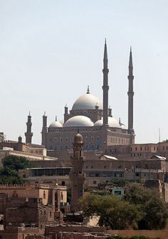 The Saladin Citadel and Mohamed Ali Mosque - Cairo, Egypt