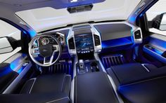 Ford Explorer- ambient lighting