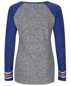 Women's New York Mets Running Out Long Sleeve T-Shirt - Gray L