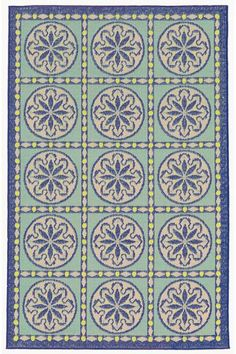 Sandcastle Area Rug - Synthetic Rugs - Machine-woven Rugs - Patio Rugs - Outdoor Rugs - Contemporary Rugs - Geometric Rugs | HomeDecorators.com