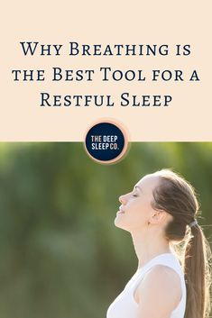 This article explains why the right breathing technique is so important for sleep and reveals the best breathing exercises for sleep. Breathing For Sleep, Breathing Exercises For Sleep, Natural Sleep Remedies, Insomnia Remedies, Good Sleep, Sleep Better, Insomnia Help, Sleep Medicine, Sleep Quotes