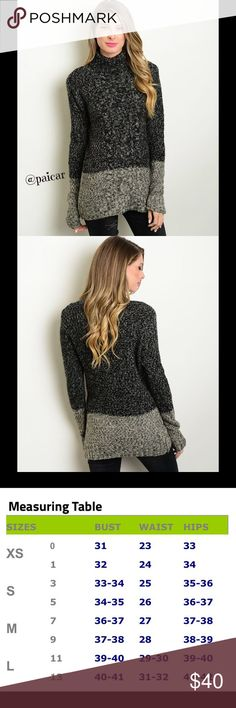 """💜ALMOST GONE💜  NEW The Rheta Cable Sweater Cozy up to a fire or head out to have some fun in this super soft versatile cable knit sweater.  Material is 55%nylon, 38%acrylic and 7%angora.  This item is 🆕, direct from the manufacturer without the specific store tag.   LIMITED QUANTITIES, I offer 25% off 2 items and FREE shipping on any single item over $25.  Simply """"offer"""" $6 less than the price shown for any item over $25👍.  💜 Please ask questions-I want you to be happy😊 Paicar Concepts…"""