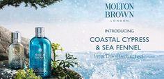 Profumeria Artemisia: MOLTON BROWN Coastal Cypress & Sea Fennel