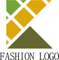 K Fashion Letter Logo Template