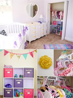 Besides being an interesting blog, there is so much I love about this whimsical nursery