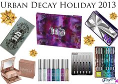 Urban Decay Holiday 2013 Roundup - Phyrra | Beauty for the Bold. Pin now, watch later! @Ashley Walters Urban Decay #urbandecay #crueltyfree #beauty #makeup #holiday2013