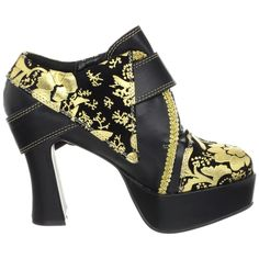 Gorgeous gold leaf and braid, glam up any outfit! The Violet Vixen - Gold Leaf Florals, $69.00 (http://thevioletvixen.com/shoes/gold-leaf-florals/)
