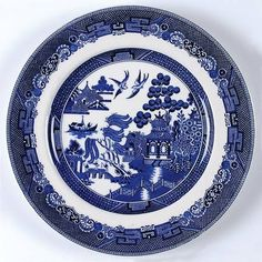 Johnson Brothers Willow Blue (Made in England, Earthenware) at Replacements, Ltd - Page 1