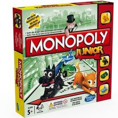 Buy Monopoly Junior Board Game from Hasbro Gaming at Argos. Thousands of products for same day delivery or fast store collection. Monopoly Junior, Monopoly Money, Monopoly Board, Monopoly Game, Prison, Christmas Board Games, Monopole, Le Zoo, Game Title