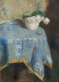 Alfons Karpiński - White Roses (1921)