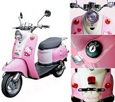 scooter Hello Kitty...