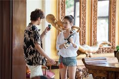 Song Ji Hyo and Chen Bolin in Bali starring in We Are In Love