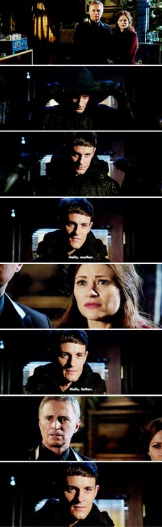 Rumple, Belle and Gideon - 6*10 ~ Wish You Were Here