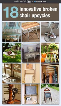 innovative Upcycled Chair Projects on Hometalk from Denise on a Whim