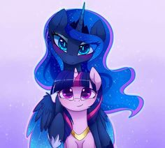 Purple and Blue by MagnaLuna