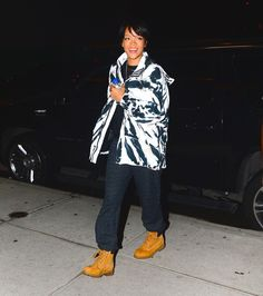 Rihanna spotted arriving at a Recording studio in New York