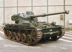 AMX13 old french light tank