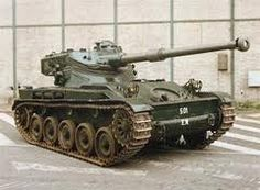 AMX13 old french light tank