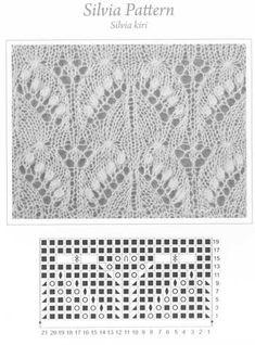 Silvia pattern for the Haapsalu Shawl - beautiful stitch from Estonia