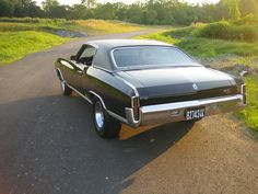 My first car ~1971 chevy monte carlo
