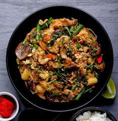 Oliven für Abendessen | Rezepte für die ethische Vegan: Red Curry und Ingwer-Kokos-Sauce