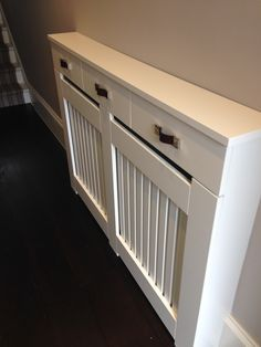 Image result for radiator cover with drawers