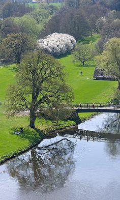 Reflection, Warwick Castle, England