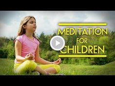 Meditation For Children With Mountains - Relaxing Meditation - Calming Music