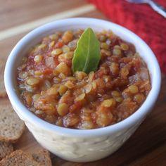 Red Lentil Tomato Soup Recipe