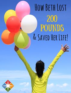 Fear of Heart Transplant Leads to Beth's 200 Pound Weight Loss* Read Beth's inspirational story, and maybe it'll spark a change in you! | via @SparkPeople