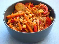 Asiatischer Reisnudelsalat  (vegan)